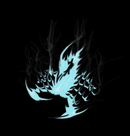 volatile: scorpion ice graphic