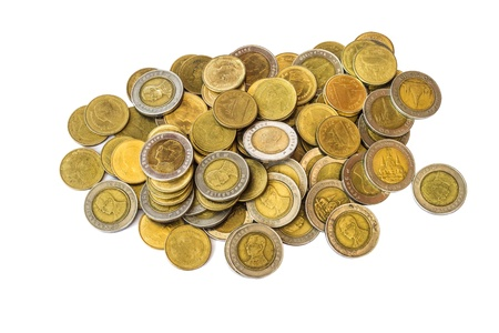 Thailand baht coins photo