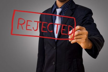 reject by businessman