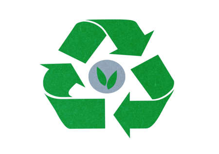 green recycle symbol  photo