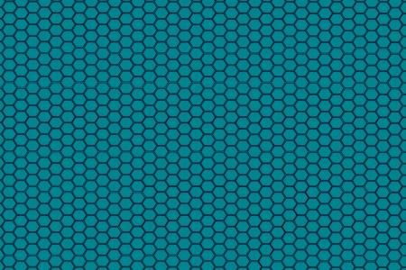 blue hexagon steel texture  photo