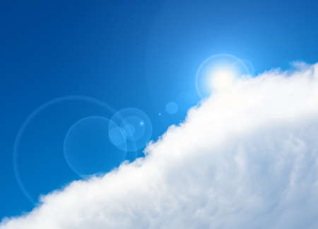 Beautiful sky and clouds   Stock Photo - 22387460