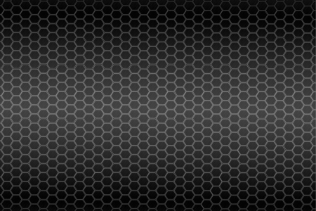 Hexagon steel texture  photo