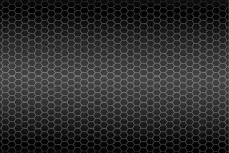 Hexagon steel texture