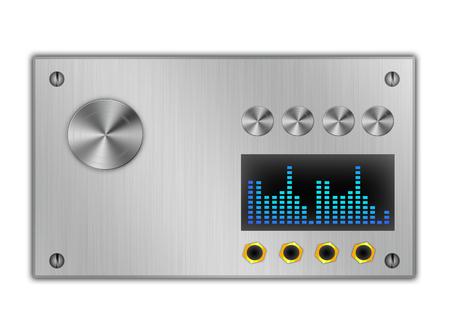 power amplifier  Stock Photo