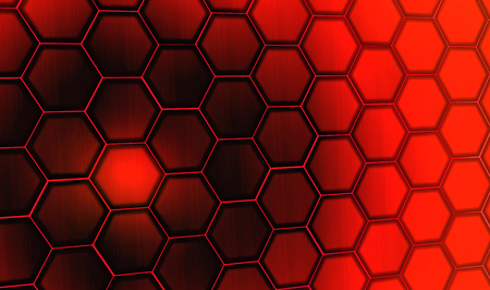 Find Similar Images Red hexagon background