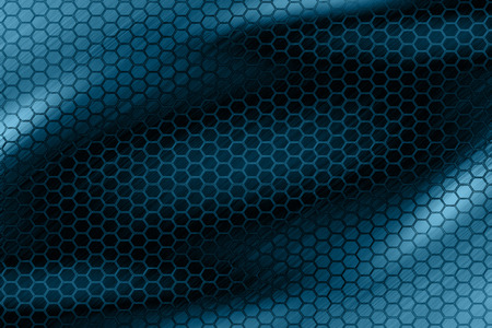 dark hexagon blue wallpaper  photo
