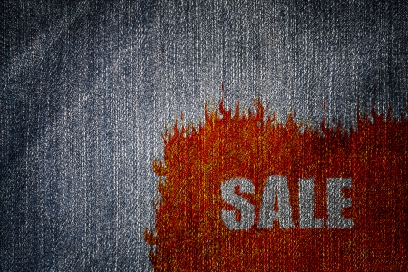 jeans sale background  photo
