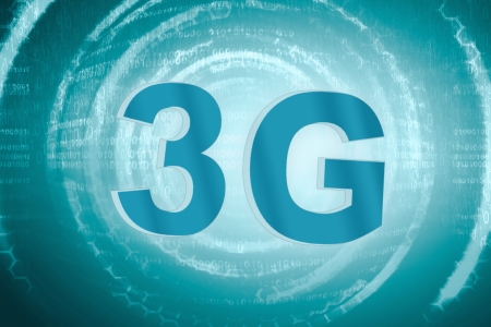 3g: 3G technology Stock Photo