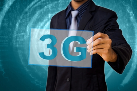 3G by the businessman  photo