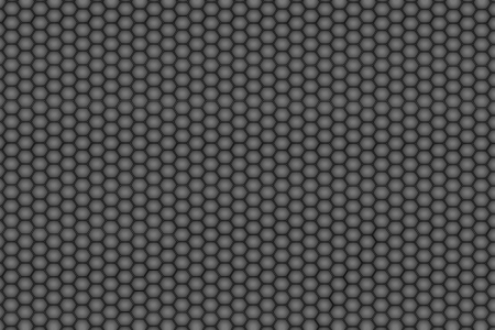 Hexagon steel texture background  photo