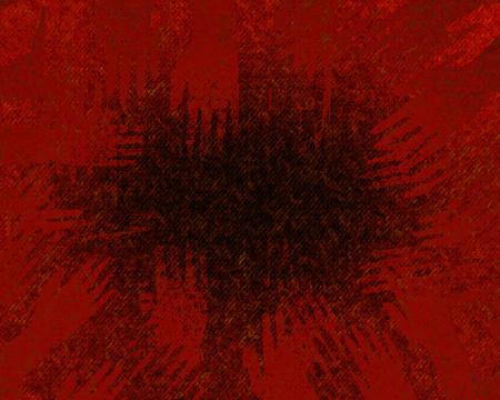 bloody hand print: mano de fondo de color rojo oscuro