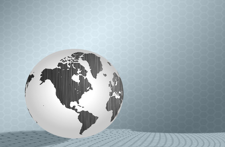 silver earth background  photo