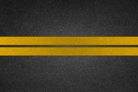 yellow line on road  photo