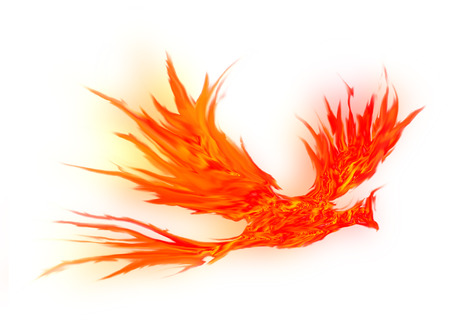 Phoenix bird  Stock Photo