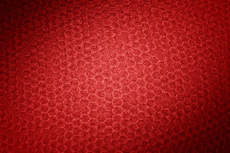 red hexagon texture abstract background  photo