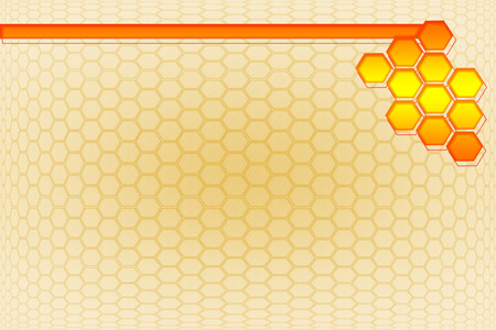 Hexagon paper background