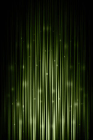 abstract glowing green background