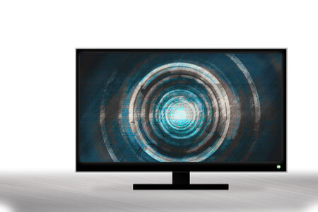 liquid crystal display: LED television blue technology design