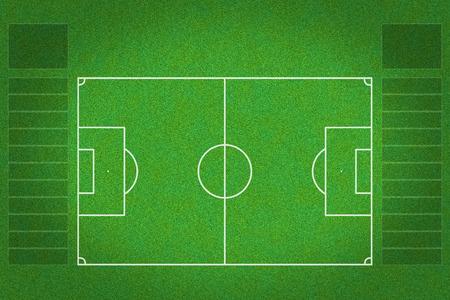 soccer field  photo
