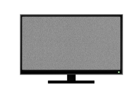television bad signal  photo