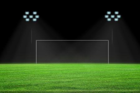 penalty area on soccer field
