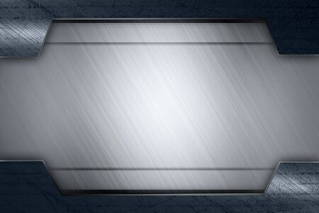 metal frame texture background photo