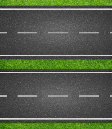 line marking on road texture