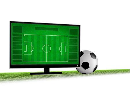 smart goals: Live soccer on 3D television