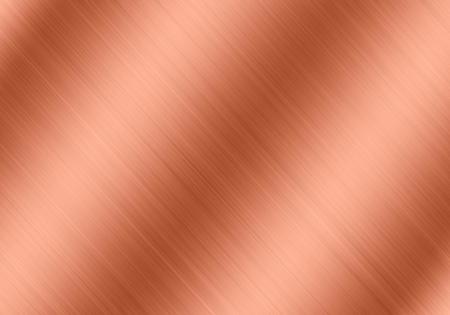 light on copper plate texture background   Foto de archivo
