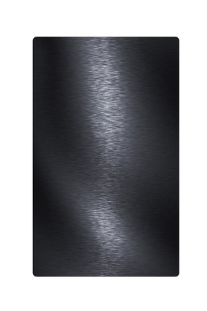 black steel plate texture surface Stock Photo