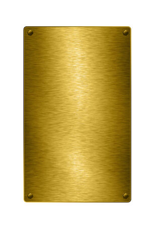 industrial background: Gold plate
