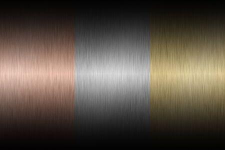 alloy: Gold metal texture Stock Photo