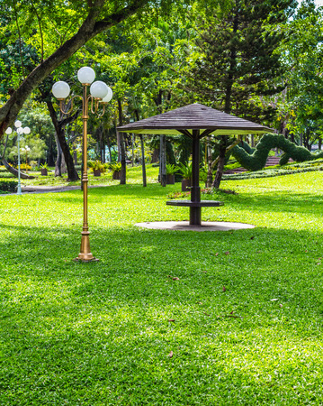 Park view in thailand