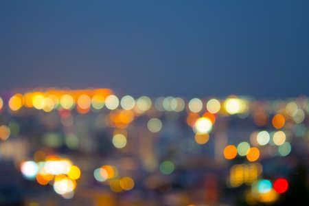 city light: city light bokeh background