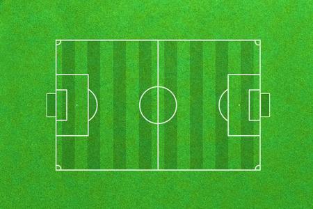 football match lawns: soccer field