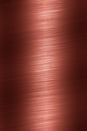 chrome texture: Copper texture surface Stock Photo
