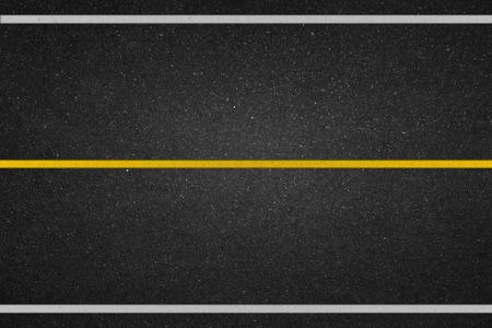 道路の白線 写真素材