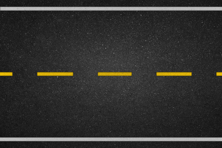 tarmac: Yellow dot lines on the road
