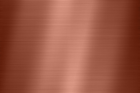 background texture of copper metal steel Stock Photo