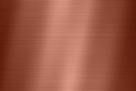 Textura de fondo de acero de metal de cobre