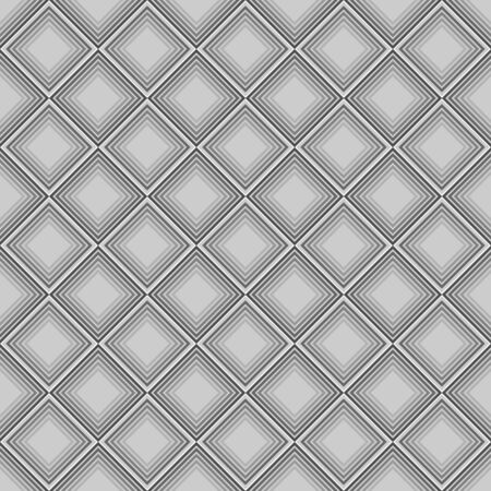 Geometric pattern of gray squares
