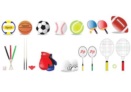 muti: muti sport item Illustration