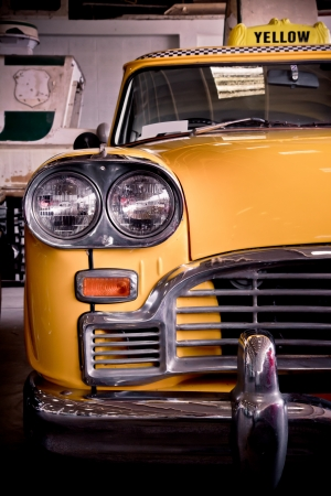 yellow taxi photo