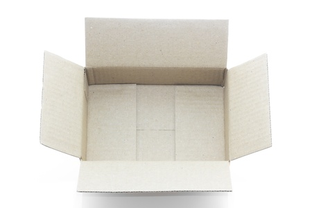 Box for post business or send the goods photo