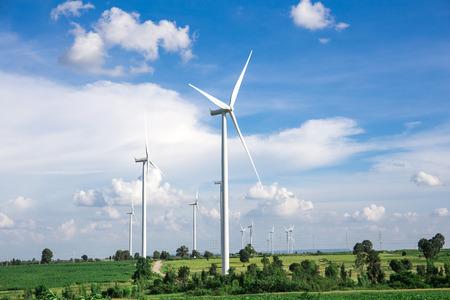 viento: Aerogenerador granja