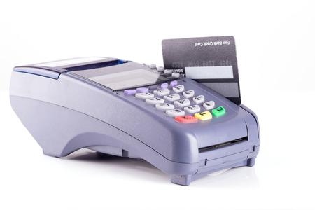 cardreader: Credit card on Credit card Machine