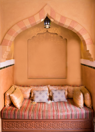 Moroccan Living-room Interior Design
