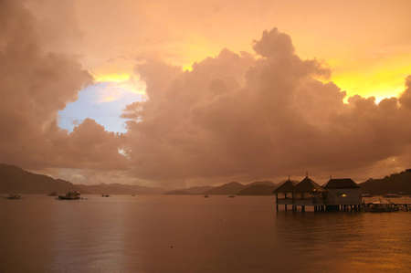 Clouds After  tropical storm