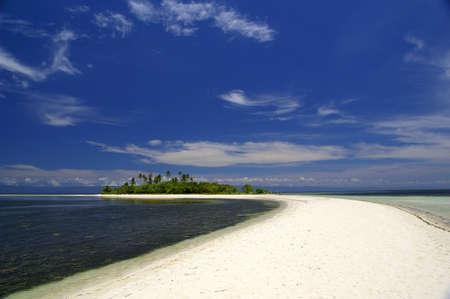 White Sand Virgin Beach Stock Photo